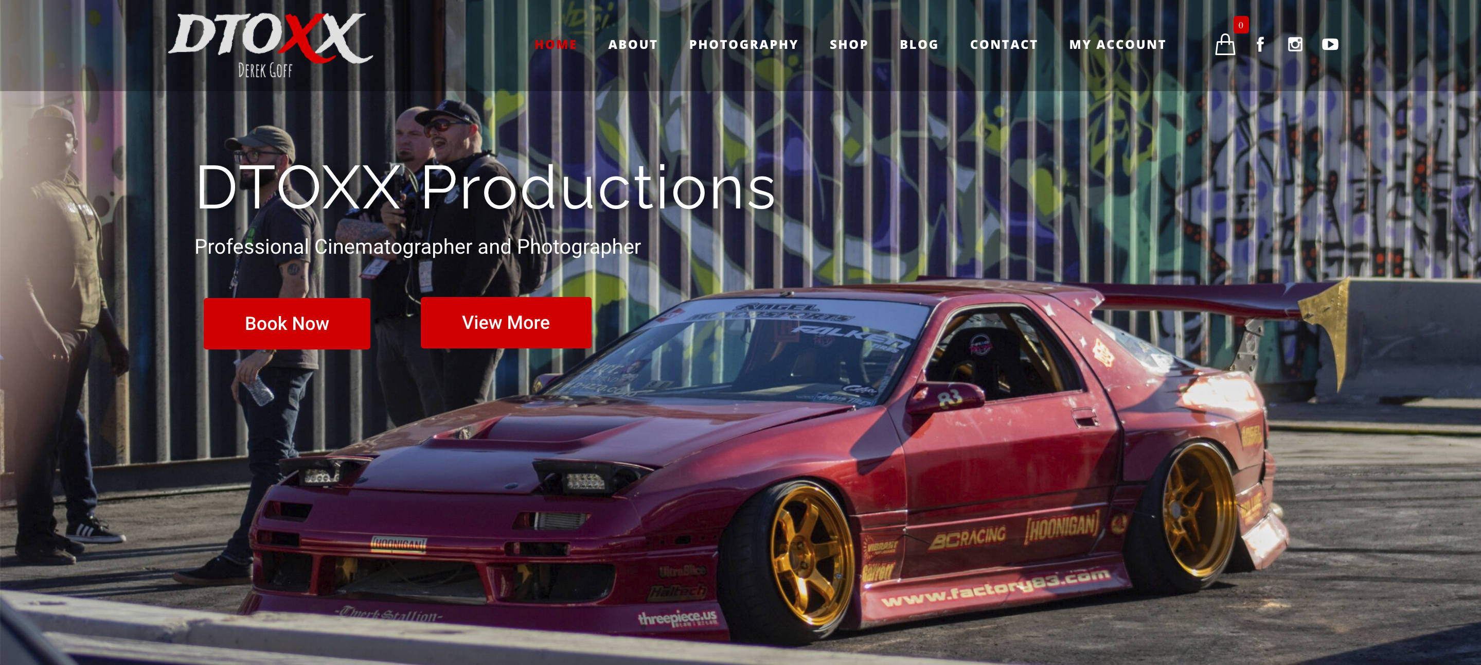 DTOXX Productions Website