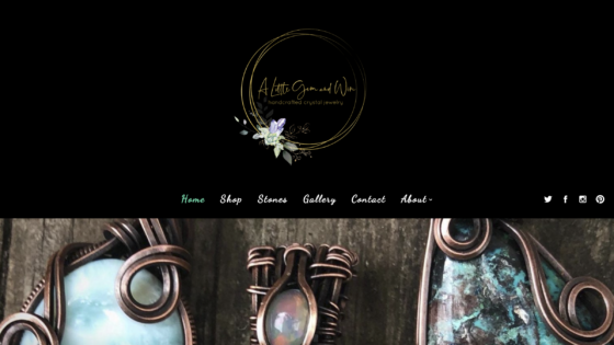 A Little Gem and Wire Website